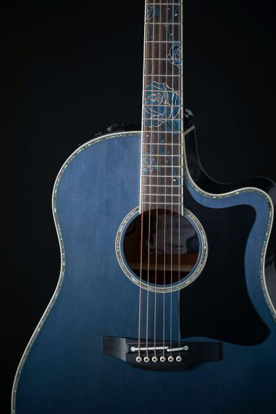 Takamine LTD 2021 Blue Rose
