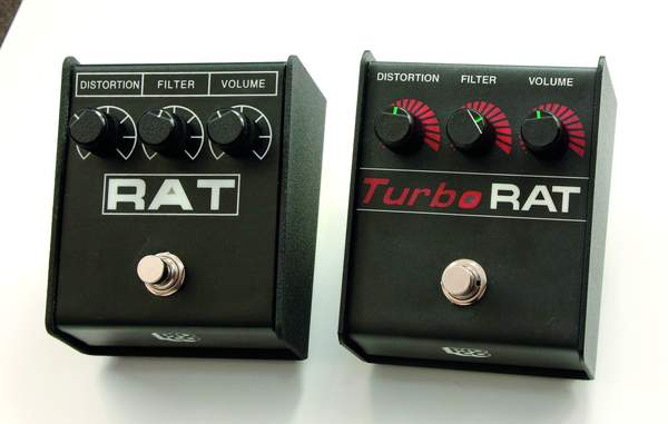 Proco Rat Guitar Pedal Test Solo Turbo