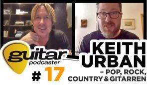 guitar Podcaster Keith Urban