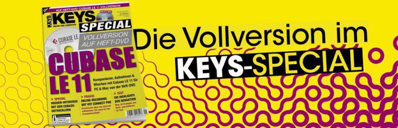 Cubase LE 11 Vollversion im Keys Special