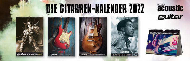 guitar Kalender 2022