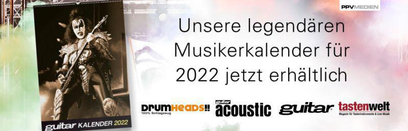 Musiker Kalender 2022