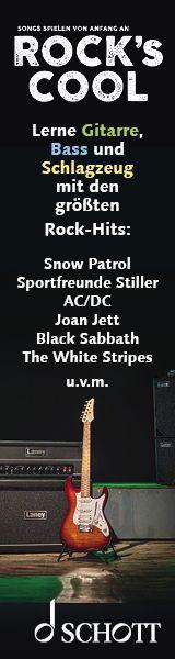 Schott Gitarre Rocks