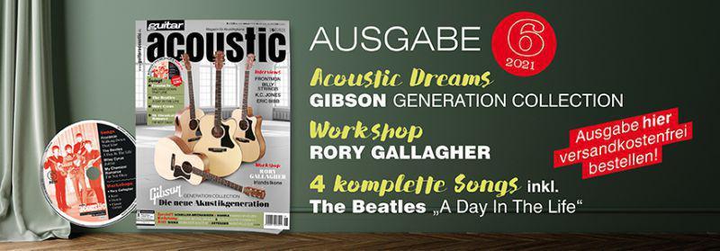 Banner guitar acoustic 6/21