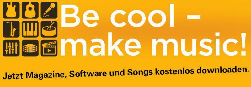 be cool - make music