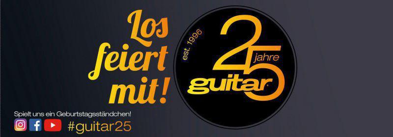 25 Jahre guitar