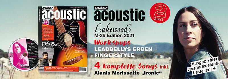 guitar acoustic Magazin Ausgabe 06 2020