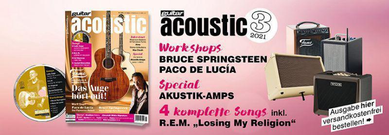 Banner guitar acoustic 3/21