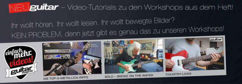 Guitar Magazin Videos