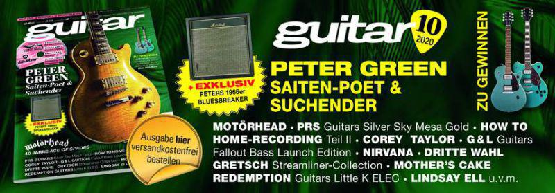 guitar Magazin Ausgabe 10 / 2020