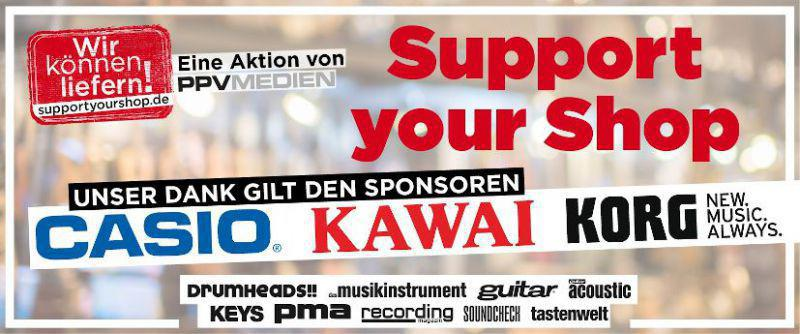 Support Your Shop Banner